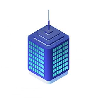Isometrische stadtarchitektur