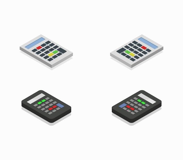 Isometrische taschenrechner-auflistung