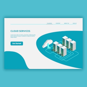 Isometrische technologie modern mit 3d-bildern. isometrisches illustrationsdesign für digital, computer modern, technologie modern und vieles mehr.