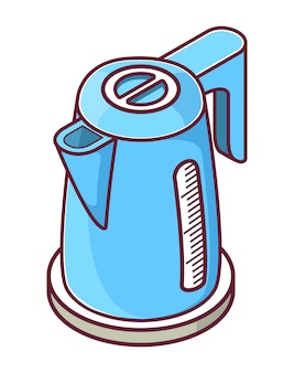 Isometrische wasserkocher