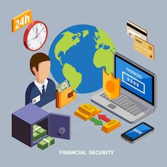 Isometrischer bankelementsatz