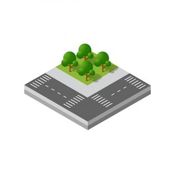 Isometrischer bezirk des moduls 3d