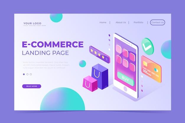 Isometrischer e-commerce