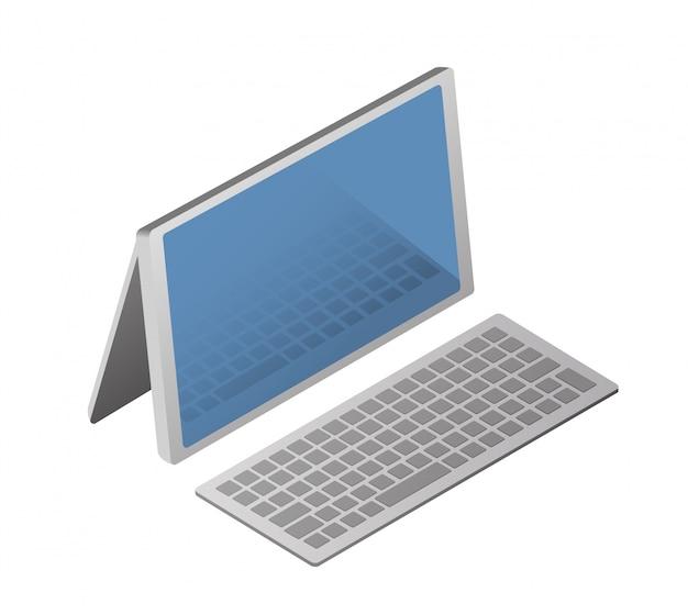 Isometrischer personal computer