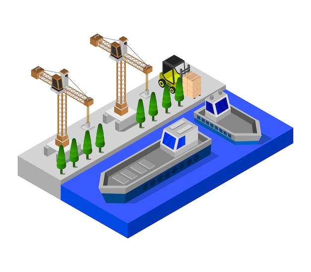 Isometrischer port