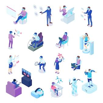 Isometrischer satz der virtuellen realität