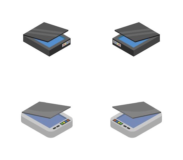 Isometrischer scanner eingestellt