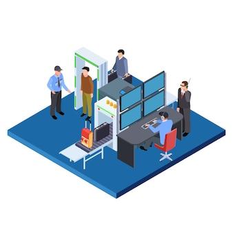 Isometrischer sicherheitsdienst
