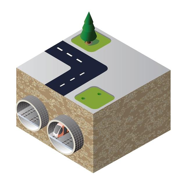 Isometrischer tunnel