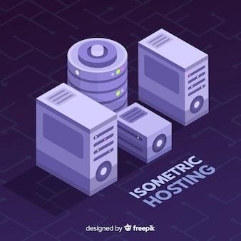 Isometrisches hosting-konzept