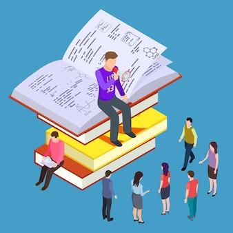 Isometrisches konzept für selbstbildung, training und unterricht