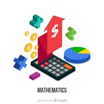 Isometrisches mathematisches konzept