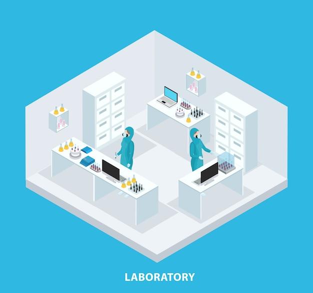 Isometrisches medizinisches forschungskonzept