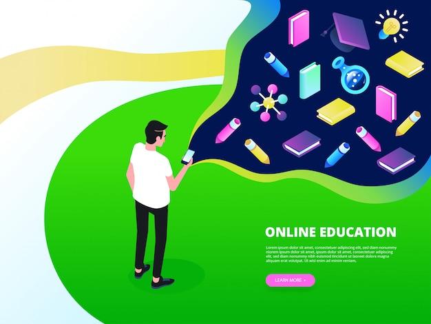 Isometrisches training, online-lernen, webinar, online-bildung