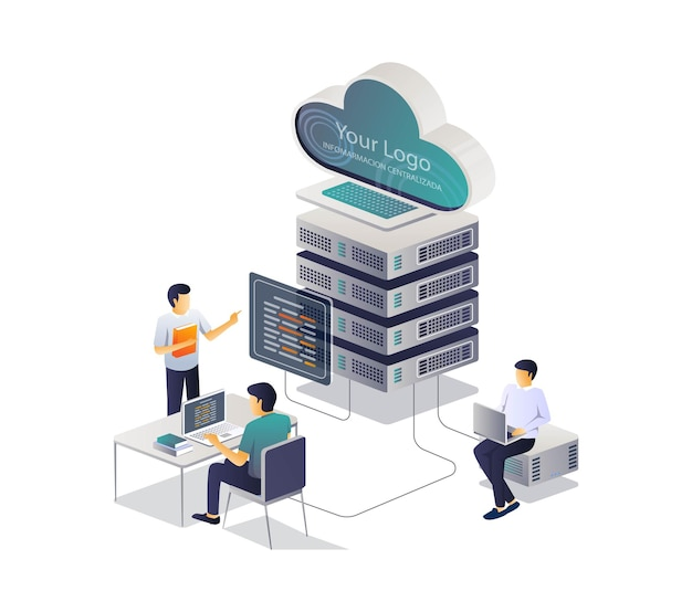 Isometrisches training und berater für cloud-server