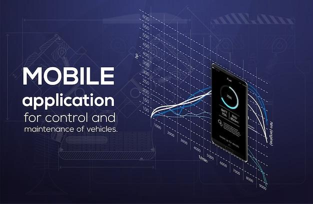 Isometry ist eine mobile anwendung für smartphone, car theme und car diagnostics.