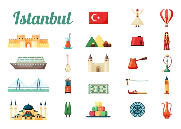 Istanbul truthahn kultur set