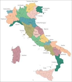 Italien ist eine einheitliche parlamentarische republik in europa