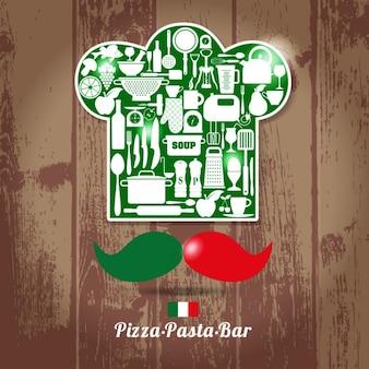 Italienisch chefkoch