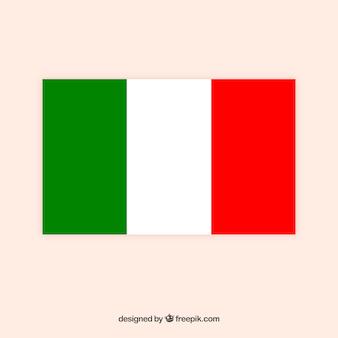 Italienischer flagge hintergrund