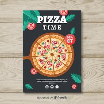 Italienischer restaurant-flyer