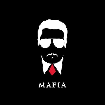 Italienisches mafioso-porträt