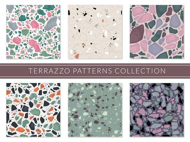 Italienisches mosaik der veneziano-verbundstruktur