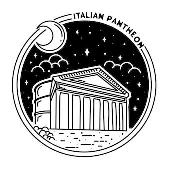 Italienisches pantheon