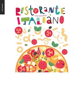 Italienisches restaurant eingestellt