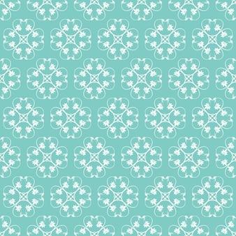 Jade-ornamental-strudel-hintergrund mit weg von weiß