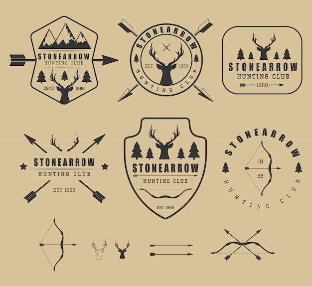 Jagd-logos