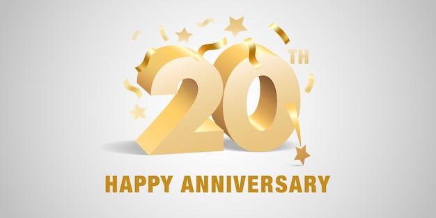 Jahre jubiläum symbol logo