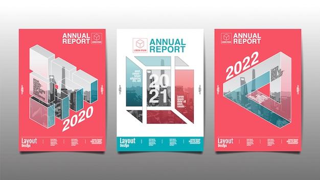 Jahresbericht, polygon, geometrische, vorlage layout-design, cover-buch.