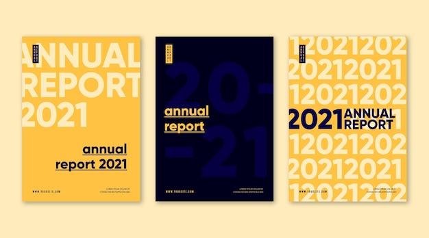 Jahresbericht poster