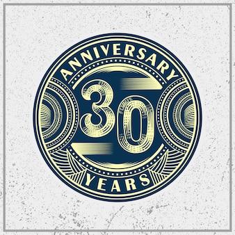 Jahrestag 30