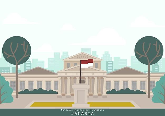 Jakarta indonesien gebäude wahrzeichen