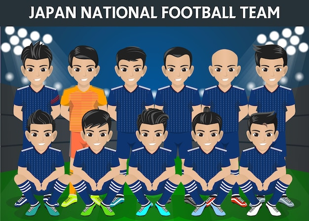 Japan national football team für das internationale turnier