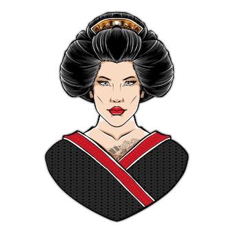 Japanische frauen mit kimono