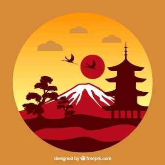 Japanische landschaft