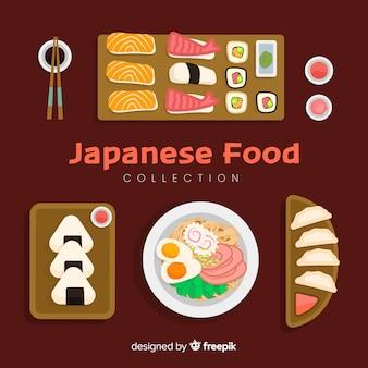 Japanische lebensmittel-sammlung
