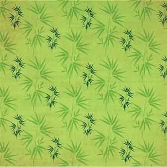 Japanische pattern mit bambus