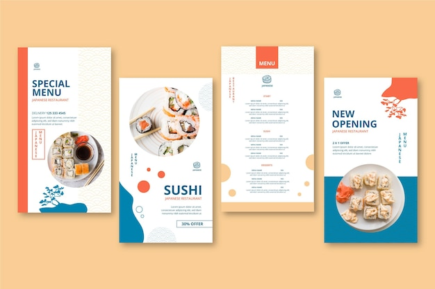 Japanische restaurant instagram geschichten