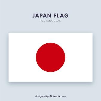 Japanischer flagge hintergrund