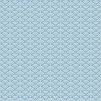 Japanischer muster hintergrund. vektor-illustration