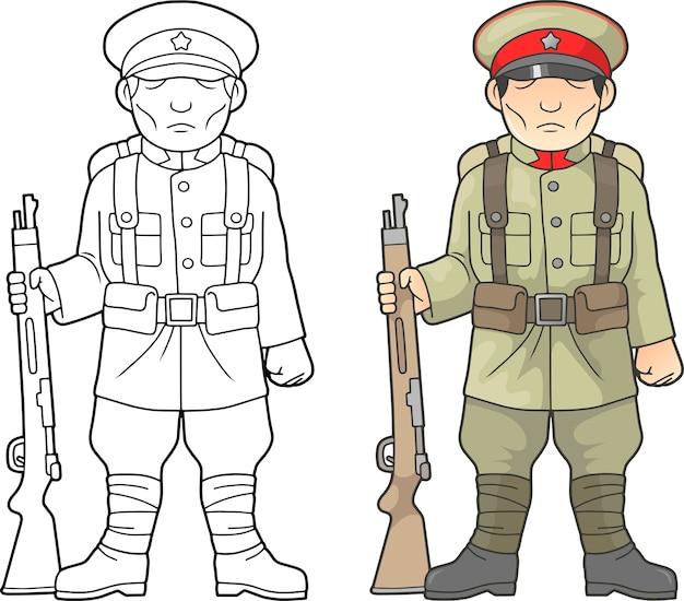 Japanischer soldat, weltkrieg