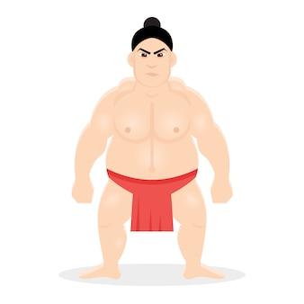 Japanischer sumoringer