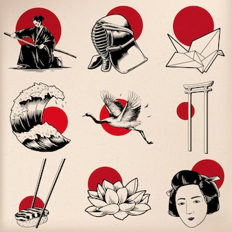 Japanischer traditionsstil