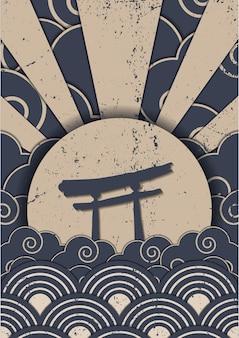 Japanisches musterdesign