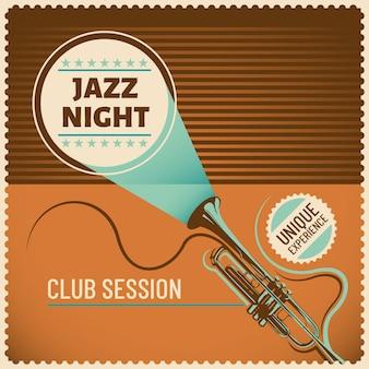 Jazz Hintergrunddesign