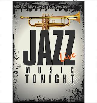 Jazz konzertplakat